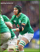 Ultan DILLANE - Ireland (Rugby) - International Rugby Union Caps.
