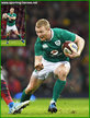 Keith EARLS - Ireland (Rugby) - International Rugby Caps for Ireland. 2015 -