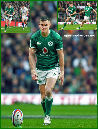 Jonathan Sexton - Ireland (Rugby) - International Rugby Union Caps. 2015 -