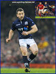 Greig LAIDLAW - Scotland - International Rugby Union Caps. 2016 -