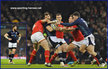 Sean LAMONT - Scotland - International Rugby Matches for Scotland. 2015 -