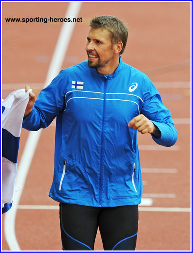 Antti Ruuskanen - Finland - 2014 European javelin champion. 6th at Rio Olympics.