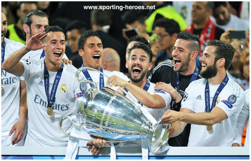 ISCO - Real Madrid - Winner of 2016 Champions League Final.