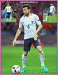 Yohan CABAYE - France - Euro 2016. Two games including win over Germany.