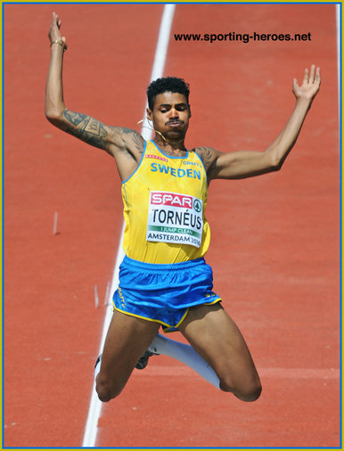 Michel TORNEUS - Sweden - Second in long jump at European Championships 2016.