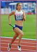 Emily DIAMOND - Great Britain - Gold medal in 4x400m at 2016 European Cjampionships.