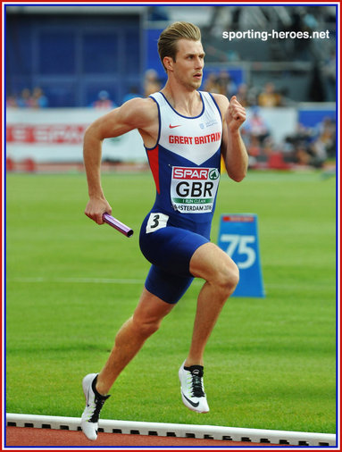 Jack GREEN - Great Britain - Bronze 4 x 400m medal at 2016 European Championships.