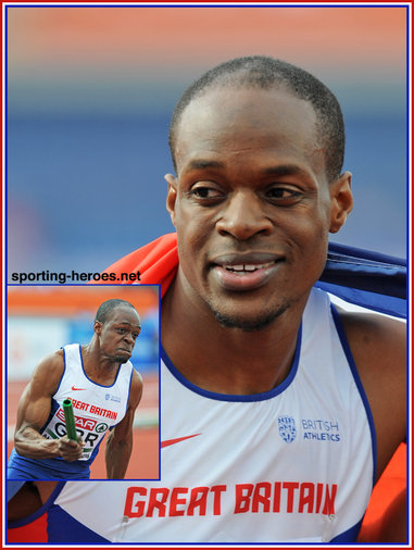 James  DASAOLU - Great Britain - Gold medal in 4x100m at 2016 European Championships.