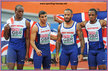 James ELLINGTON - Great Britain - Gold medal in 4x100m at 2016 European Championships.
