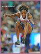 Lorraine UGEN - Great Britain - Fifth place in the 2015 World Championships long jump.