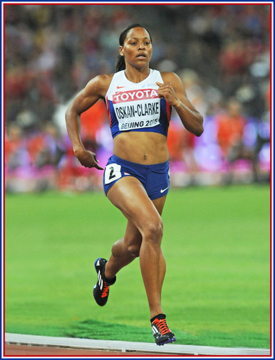 Shelayna OSKAN-CLARKE - Great Britain - Fifth in 800m at 2015 World Championships.