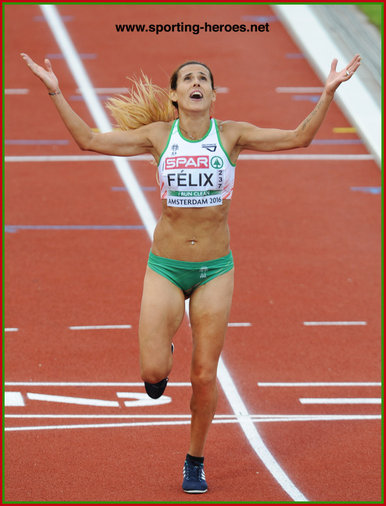Ana Dulce FELIX - Portugal - 10,000m silver medal at 2016 European Championships