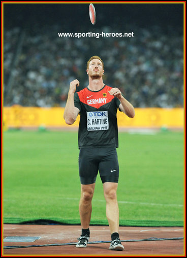 Christoph  HARTING - Germany - 2016 Olympic Games discus champion.
