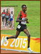 Paul TANUI - Kenya - Bronze in 2015 then a  Silver at 2016 Olympic Games