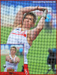 Anita WLODARCZYK - Poland - 2016 Olympic & European hammer throw champion.