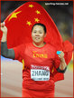 Wenxiu ZHANG - China - Silver medal in 2015 & at 2016 Olympic Games.