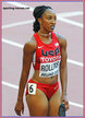 Brianna ROLLINS - U.S.A. - 2015 finalist at World Champs, 2016 Olympic Gold medalist.