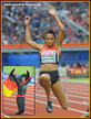 Malaika MIHAMBO - Germany - Bronze medal at 2016 European Championships. 6th in Rio.