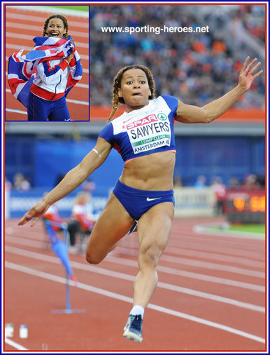 Jazmin  SAWYERS - Great Britain - 2016 European long jump silver: 8th at Olympic Games.