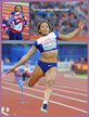 Jazmin SAWYERS - Great Britain & N.I. - 2016 European long jump silver: 8th at Olympic Games.