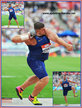 Joseph KOVACS - Croatia  - Shot put silver medal at 2016 Rio Olympic Games.