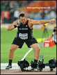 Tomas WALSH - New Zealand - 4th in shot put at 2105 World Championships