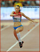 Ekaterina KONEVA - Russia - 7th in women's triple jump at 2015 World Championships.