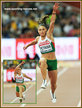 Gabriela PETROVA - Bulgaria - Fourth in triple jump at 2015 World Championships.