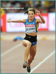 Olha SALADUHA - Ukraine - Sixth in triple jump at 2015 World Championships.
