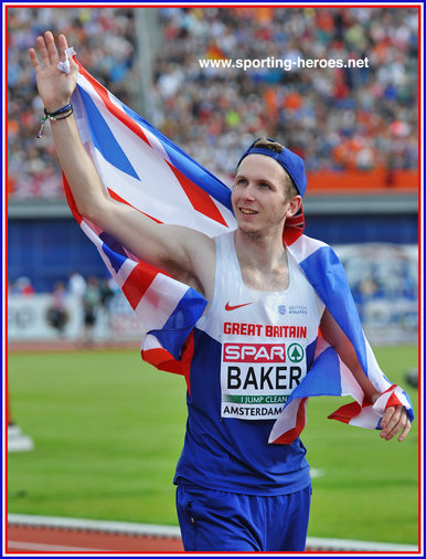 Chris BAKER - Great Britain & N.I. - 2016 European high jump bronze medal.