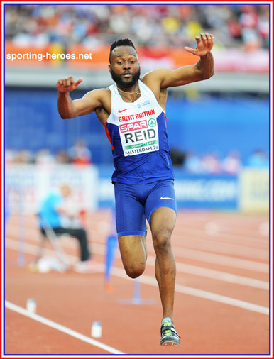 Julian REID - Great Britain & N.I. - 2016 European Championships triple jump bronze medal.