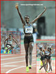 Ruth JEBET - Bahrain - 2016 Olympic steeplechase champion. World record holder.