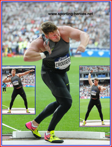 Ryan CROUSER - U.S.A. - 2016 Olympic shot put champion & record holder.