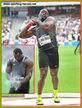 Franck ELEMBA - Congo - Fourth at 2016 Rio Olympc Games shot put final.