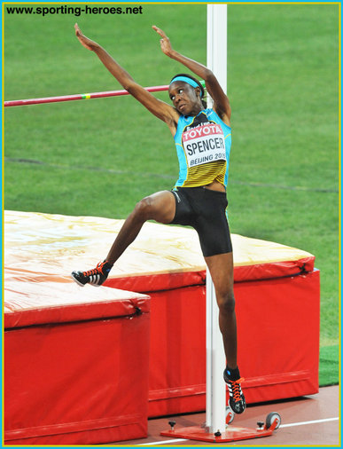 Levern SPENCER - Saint Lucia - Sixth at 2016 Olympic Games.