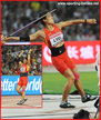 Lu HUIHUI - China - Second at 2015 Worlds Championships women's javelin.