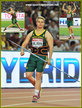Sunette VILJOEN - South Africa - Javelin bronze medal at 2015 World Championships.