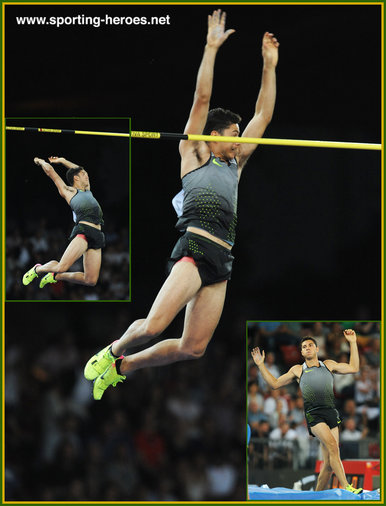 Thiago  BRAZ da SILVA - Brazil - 2016 Olympic Games men's pole vault champion.