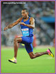 Christian TAYLOR - U.S.A. - 2016 Rio Olympic Games men's triple jump champion.