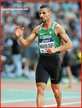 Taoufik MAKHLOUFI - Algerie - 800m & 1500m silver medals at 2016 Rio Olympic Games.