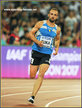 Amel TUKA - Bosnia - 800m bronze medal at 2015 World Championships.