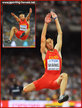 Wang JIANAN - China - Long jump bronze medal at 2015 World Championships.