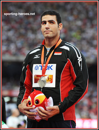 Ihab EL SAYED - Egypt - Javelin silver medal at 2015 World Championships.