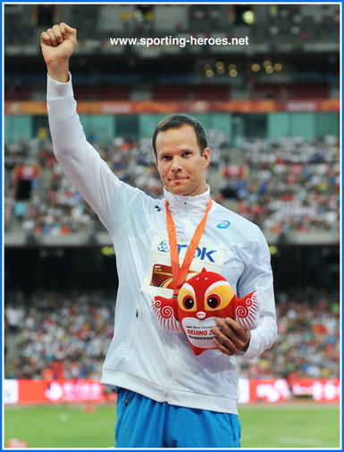 2013 World Championships in Athletics �13 Mens javelin throw