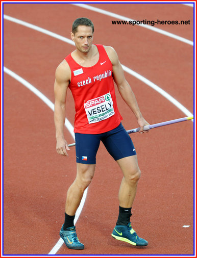 Vítezslav VESELY - Czech Republic - Javelin silver medal at 2016 European Championships