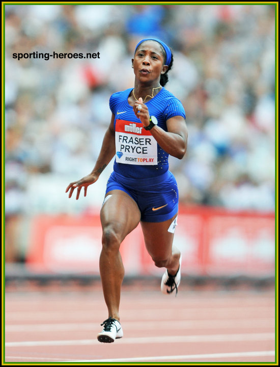 Shelly ann fraser pryce rio olympic games medals jamaica click on image to enlarge altavistaventures Images