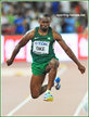 Tosin OKE - Nigeria - 8th in final of 2015 World Championships.