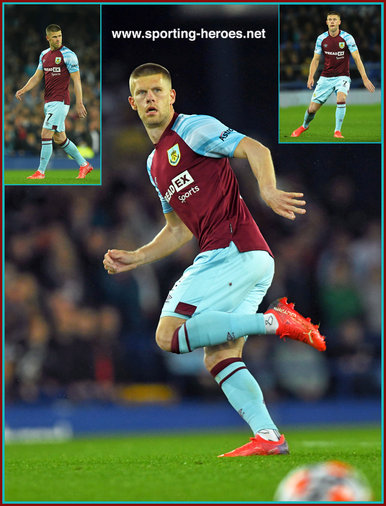 Johann GUDMUNDSSON - Burnley FC - Premier League Appearances