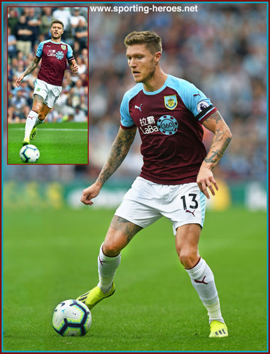 Jeff HENDRICK - Burnley FC - Premier League Appearances