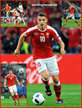 Granit XHAKA - Switzerland - 2016 European Football Finals. Euro 2016.